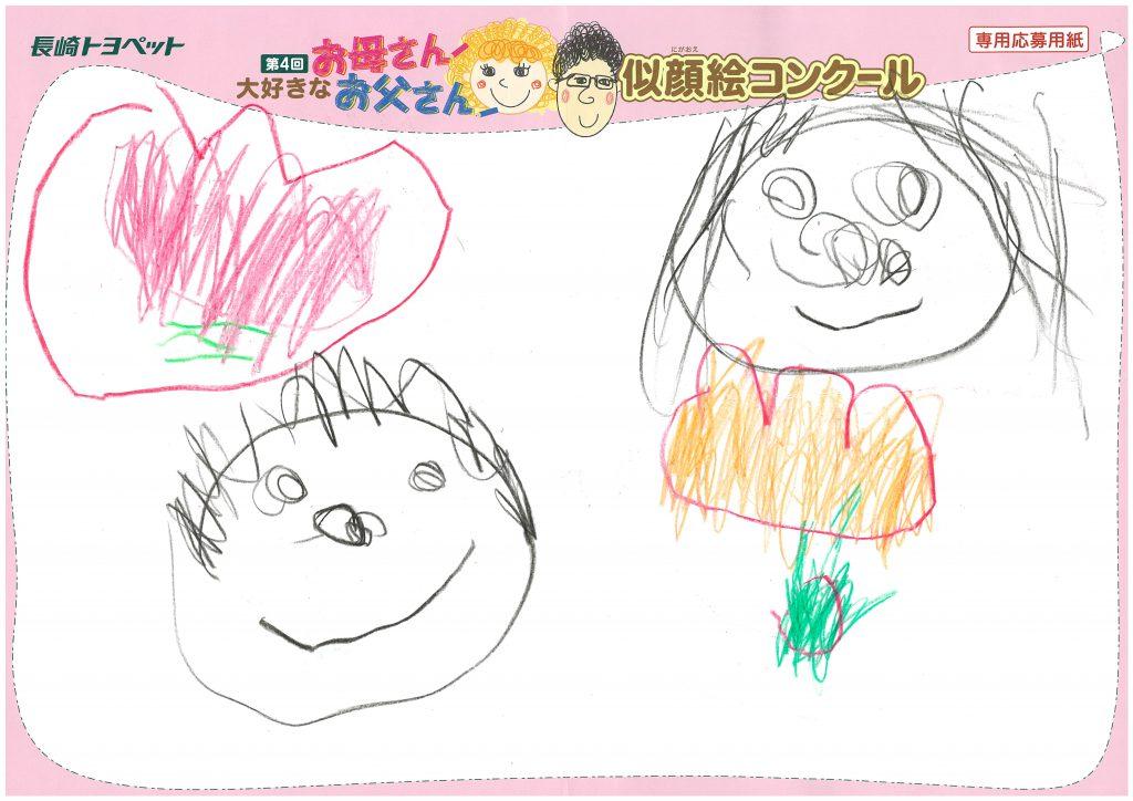 Y.Kちゃん(3才)の作品