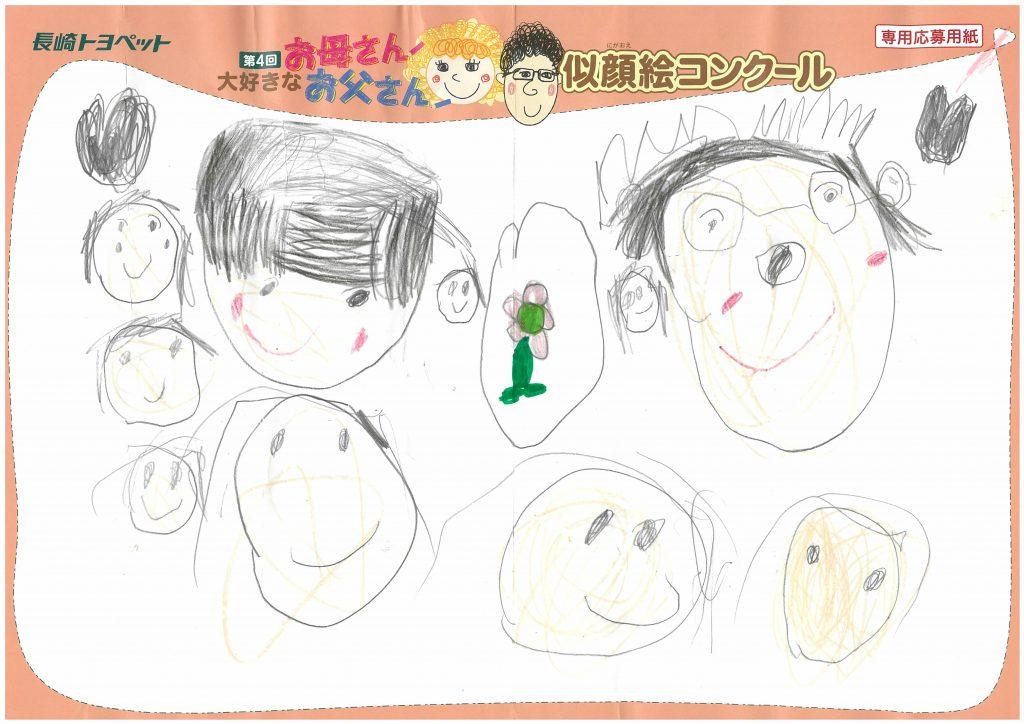 T.Mちゃん(3才)の作品