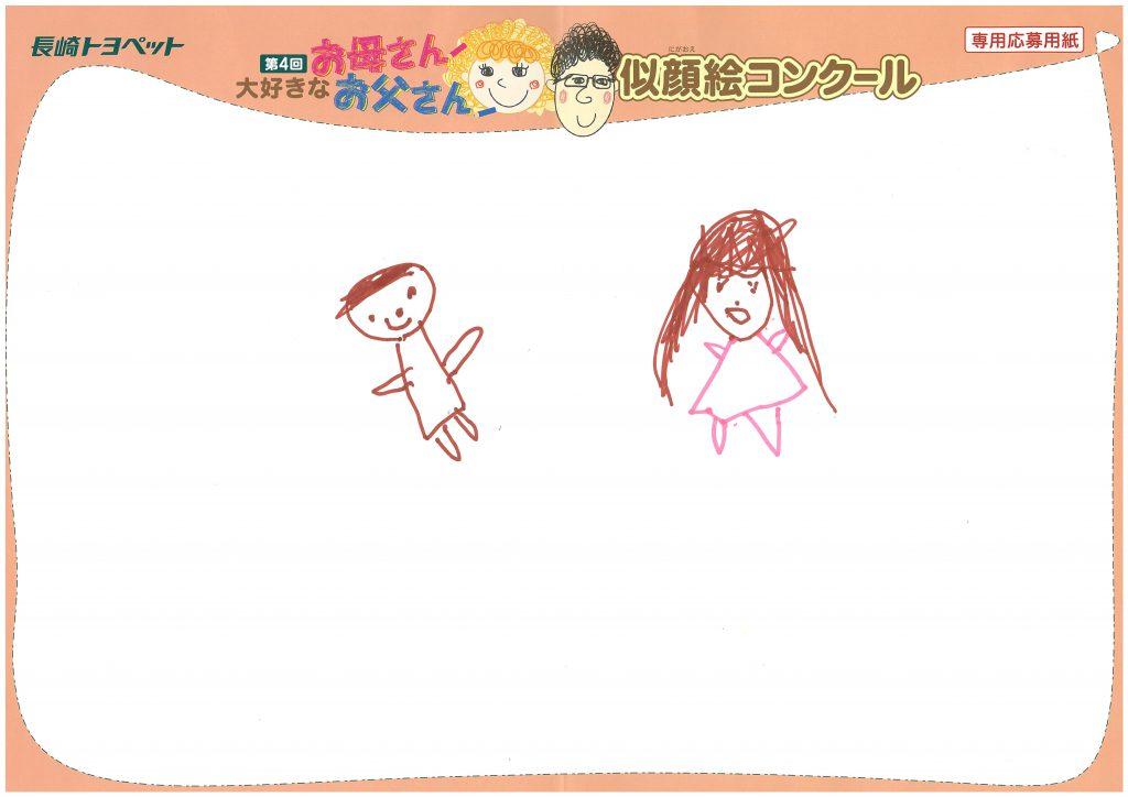 I.Nちゃん(5才)の作品