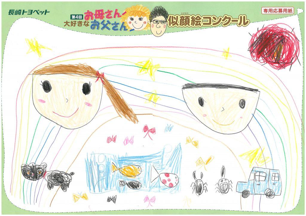 M.Tちゃん(6才)の作品
