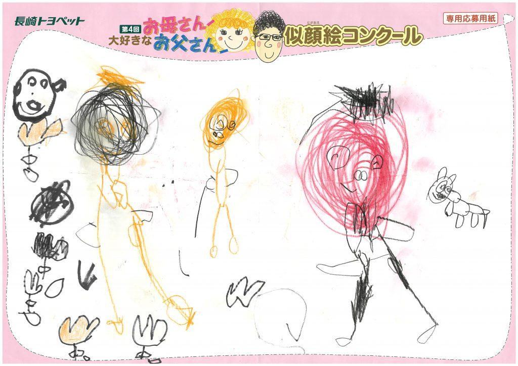 R.Hくん(4才)の作品