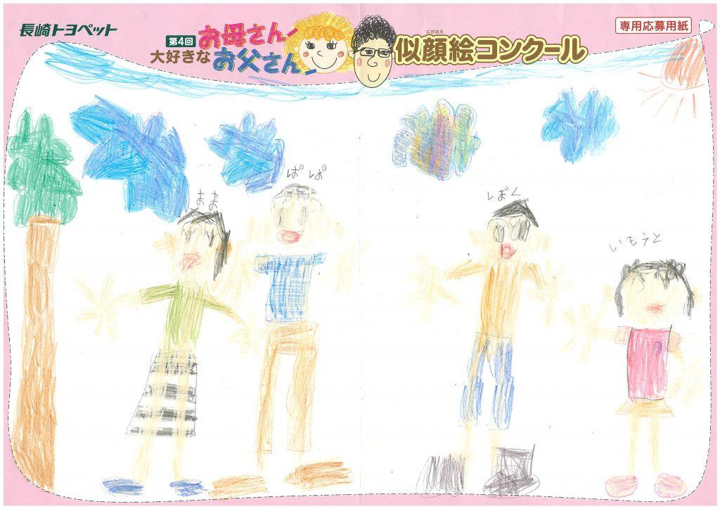H.Oくん(6才)の作品