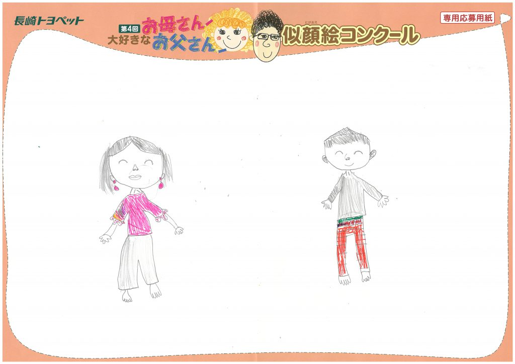 Y.Nちゃん(6才)の作品