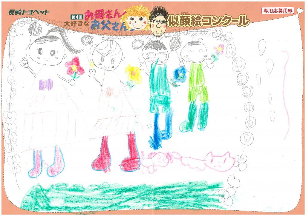 E.Oちゃん(5才)の作品