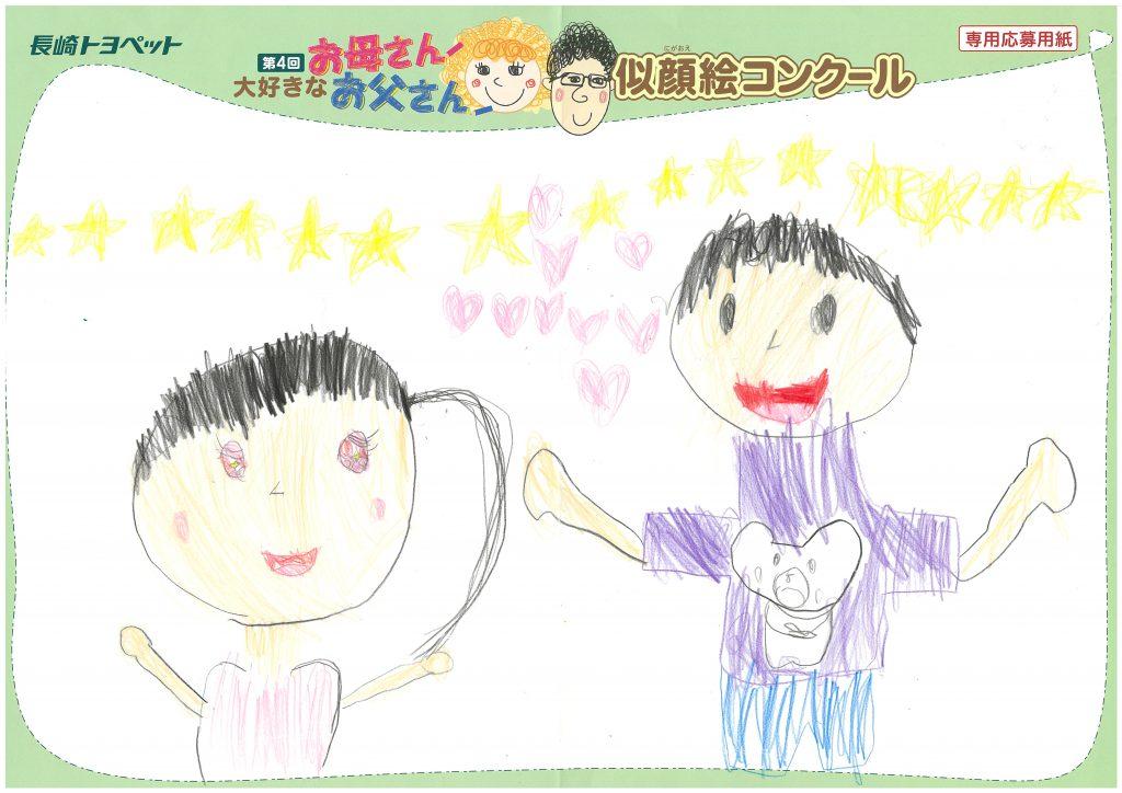 Y.Uちゃん(6才)の作品