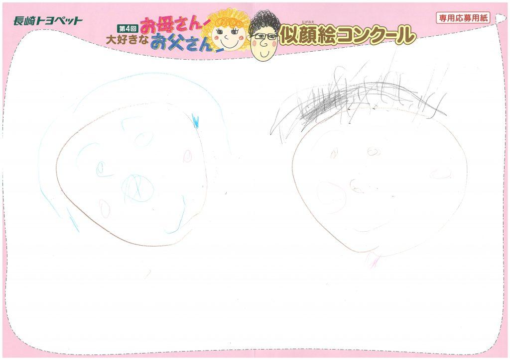 R.Oちゃん(3才)の作品