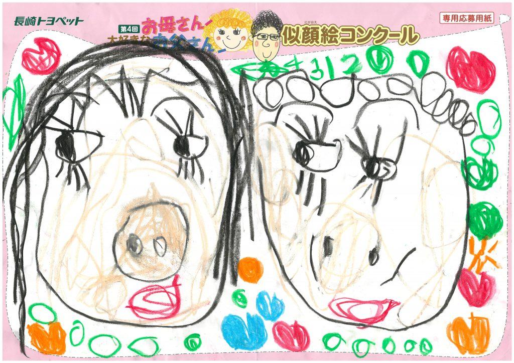 Y.Yちゃん(4才)の作品