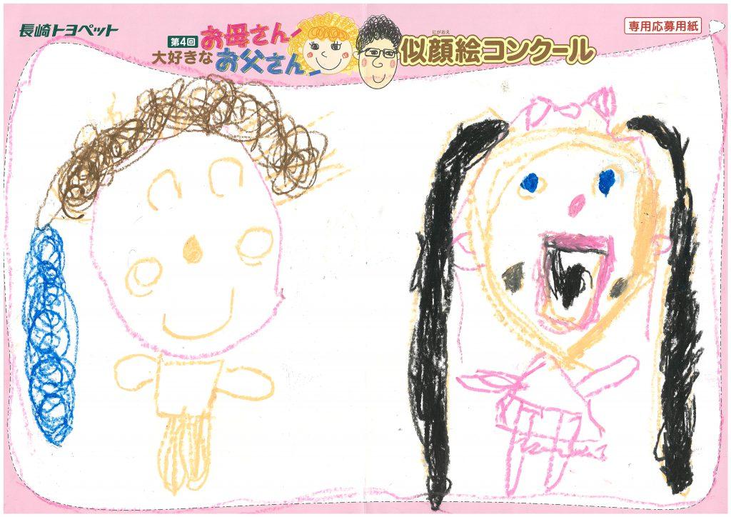 A.Nちゃん(4才)の作品