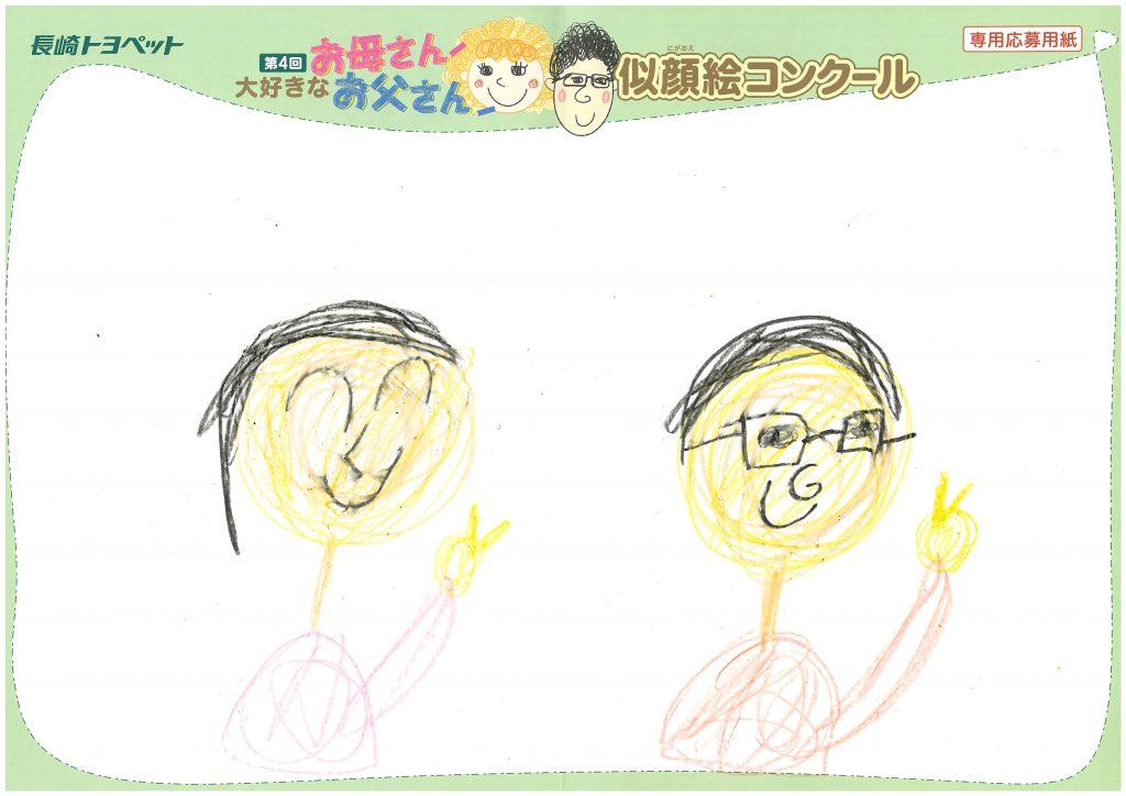 K.Eくん(6才)の作品