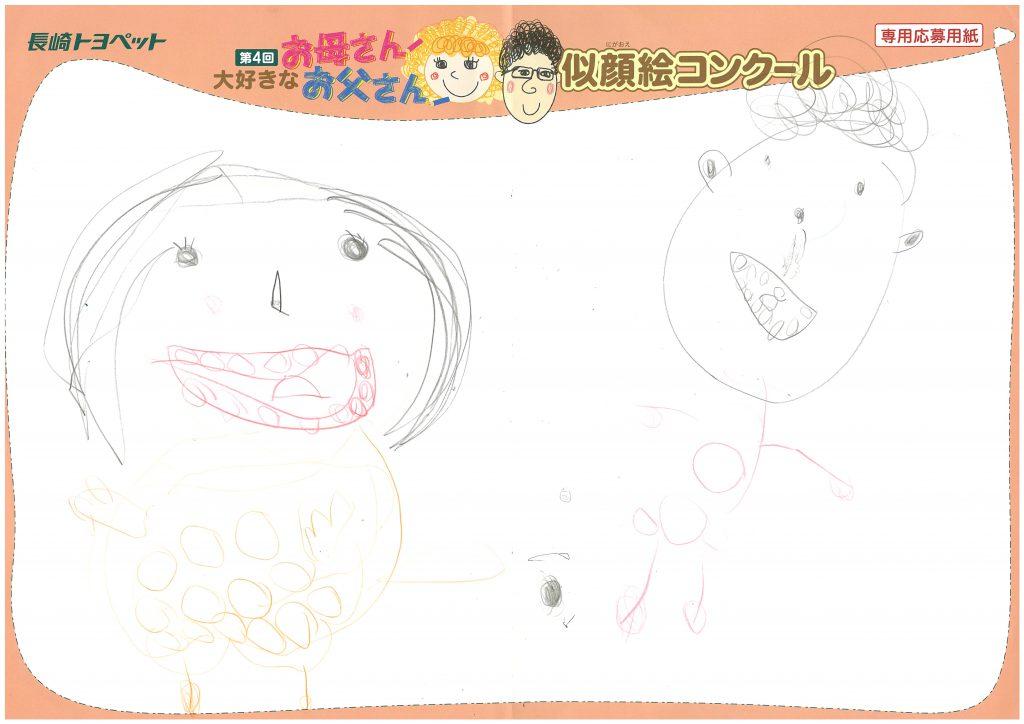 N.Tちゃん(4才)の作品