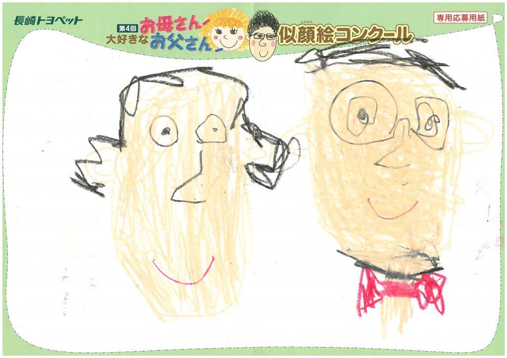 M.Sくん(5才)の作品