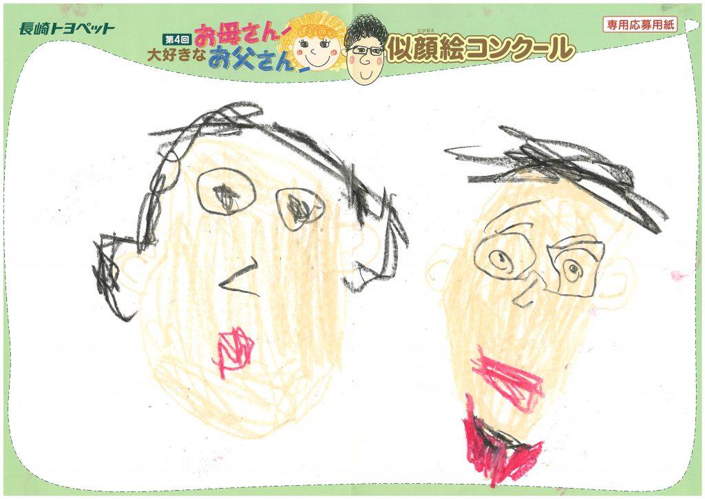 A.Sくん(5才)の作品