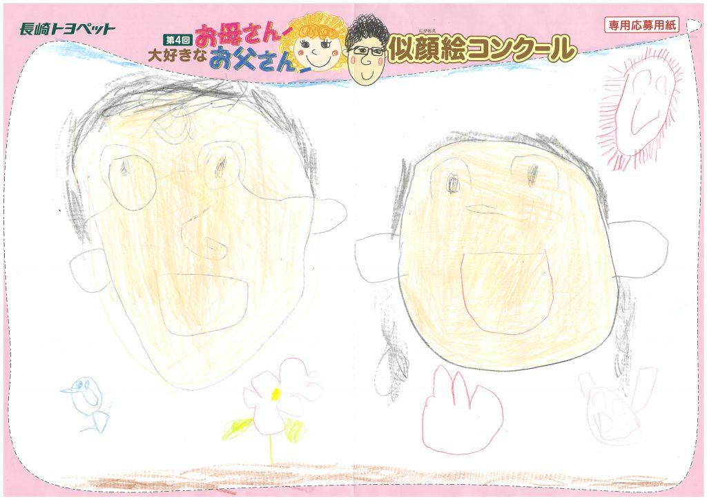 M.Oくん(5才)の作品
