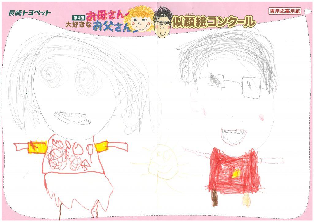 A.Kちゃん(4才)の作品