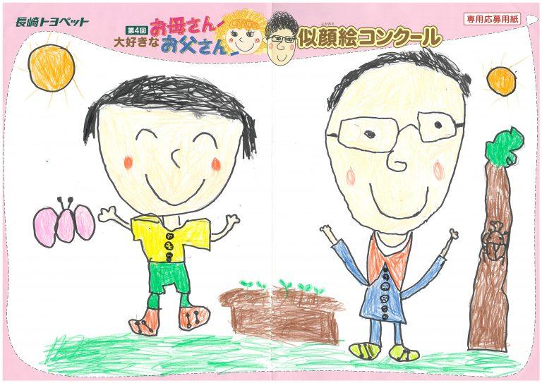 R.Kちゃん(6才)の作品