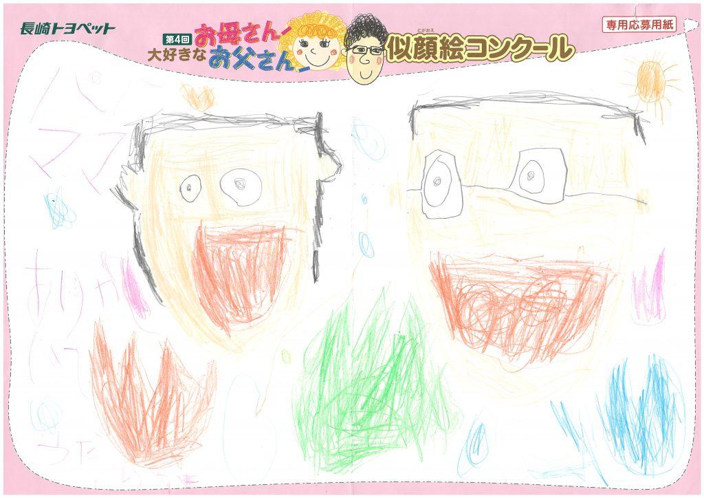 H.Hくん(5才)の作品