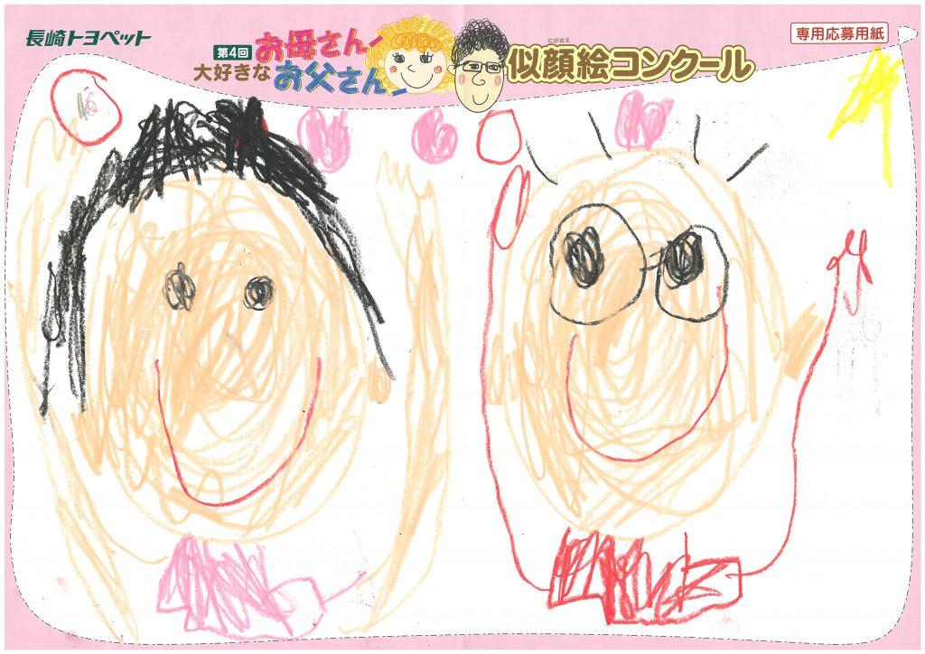 H.Oくん(5才)の作品