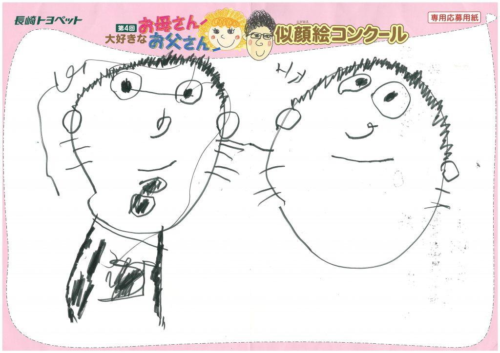N.Oくん(4才)の作品