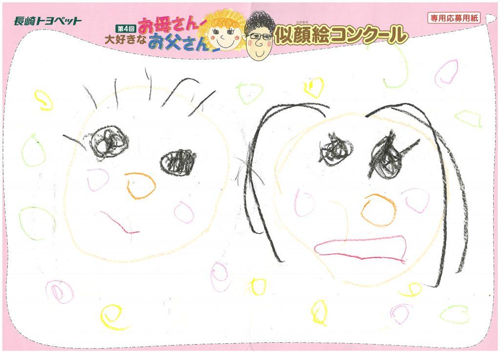 R.Tちゃん(3才)の作品