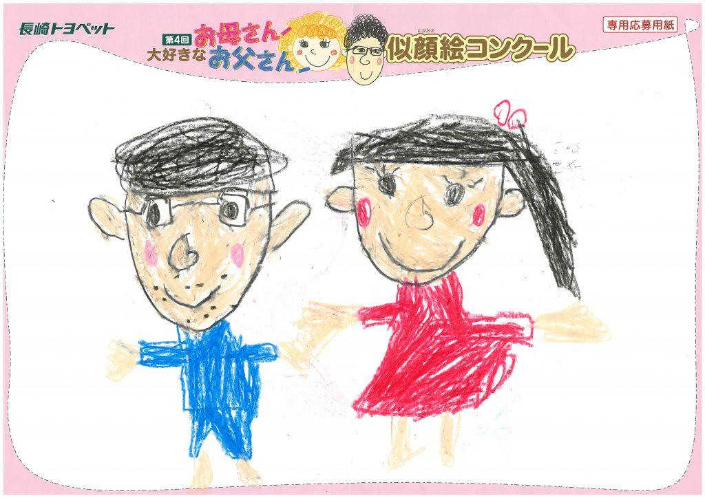 T.Tくん(5才)の作品