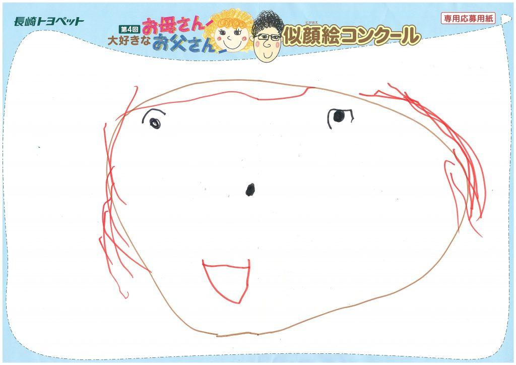 S.Iちゃん(4才)の作品