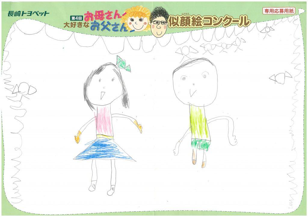 I.Aちゃん(6才)の作品
