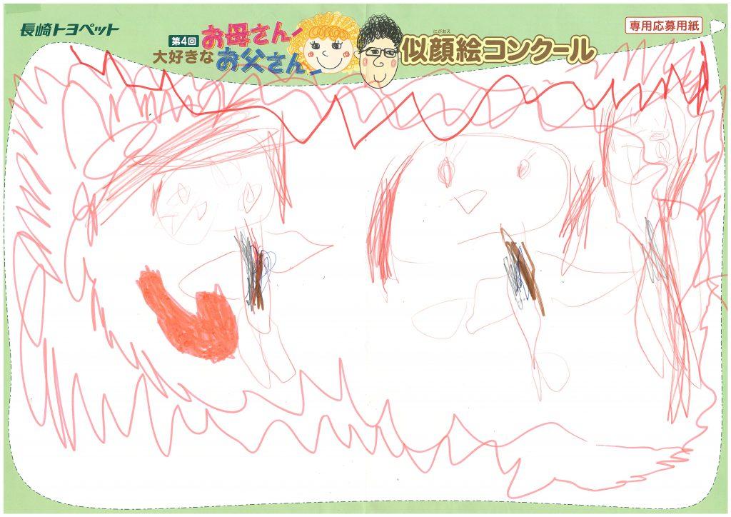 T.Aちゃん(4才)の作品