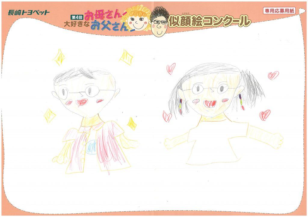 Y.Tちゃん(6才)の作品