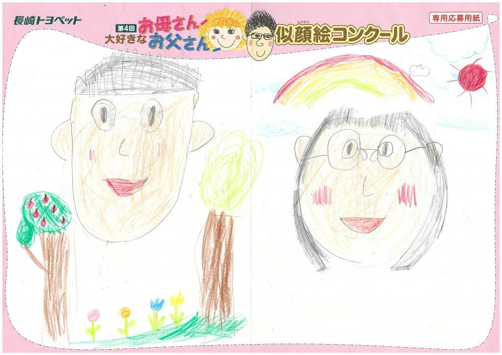 N.Uちゃん(5才)の作品