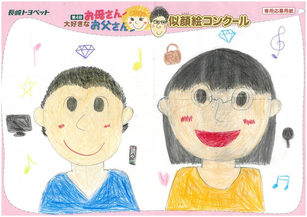M.Uちゃん(9才)の作品