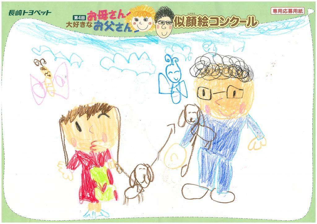 M.Tちゃん(5才)の作品