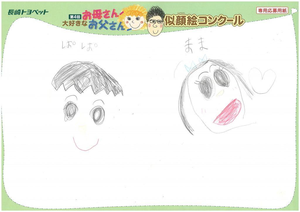 K.Nちゃん(3才)の作品