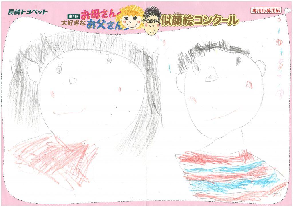 R.Yくん(4才)の作品