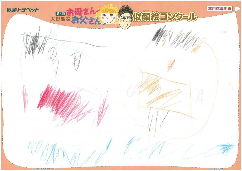 H.Wちゃん(3才)の作品