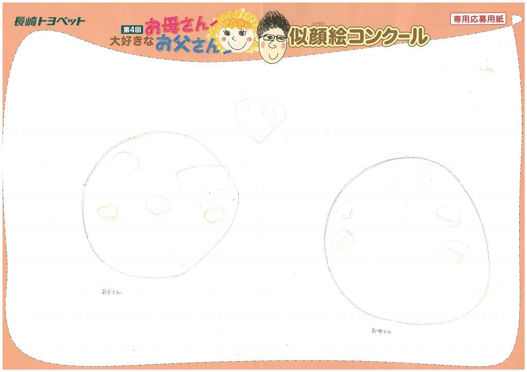 R.Mちゃん(2才)の作品