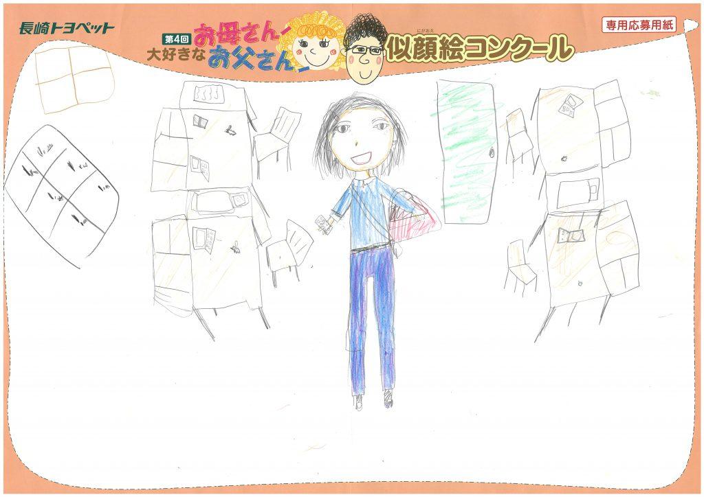 E.Nちゃん(9才)の作品