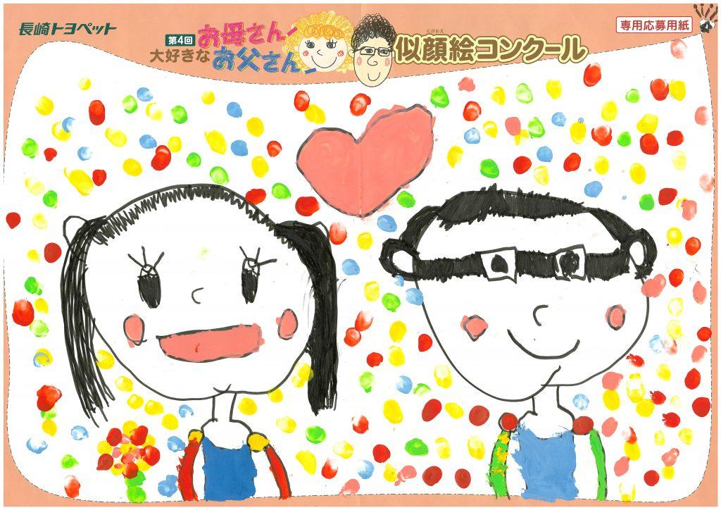 M.Yちゃん(6才)の作品