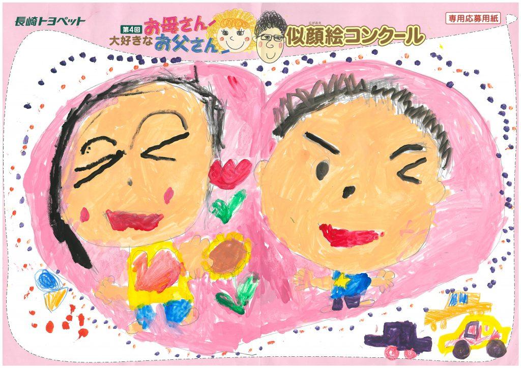 E.Aくん(6才)の作品