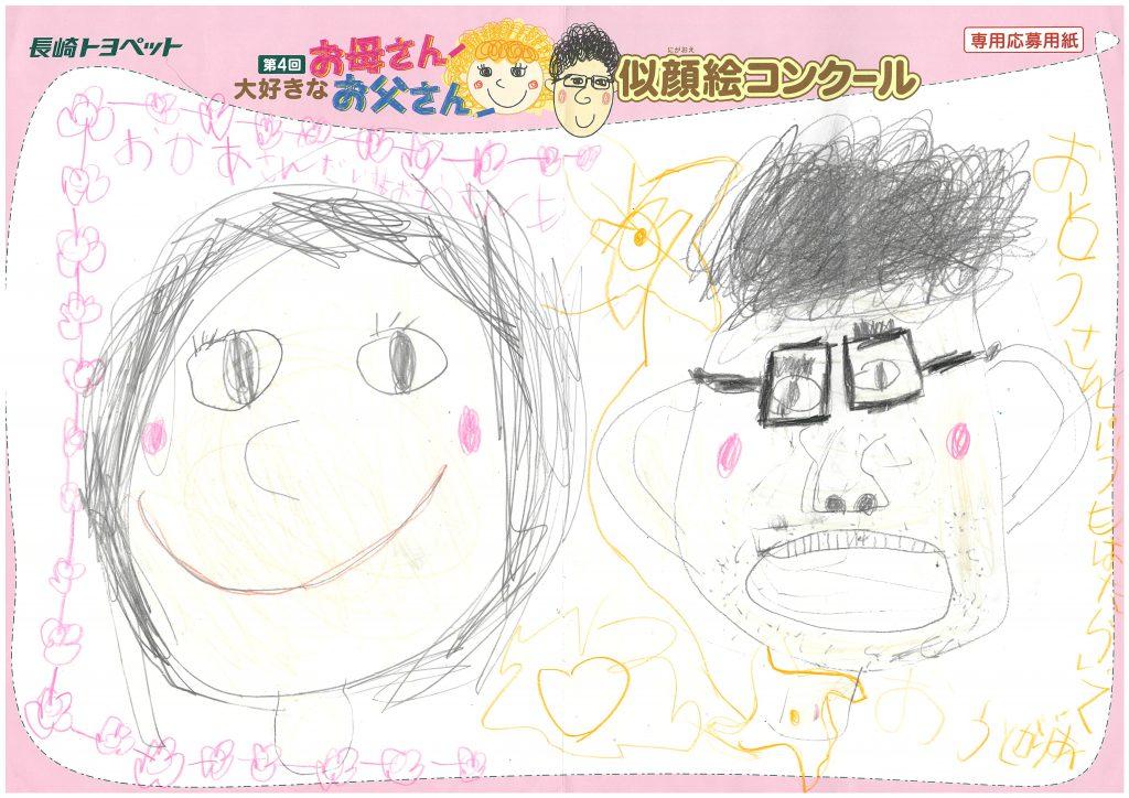 R.Iちゃん(5才)の作品