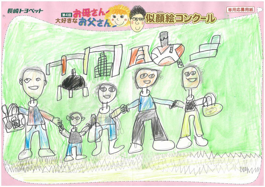 T.Oくん(8才)の作品