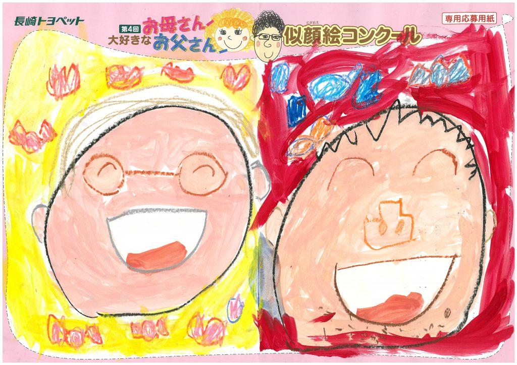 H.Yくん(5才)の作品