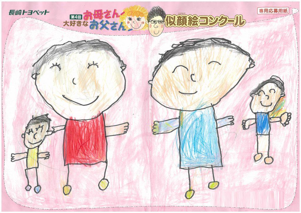 S.Hくん(6才)の作品
