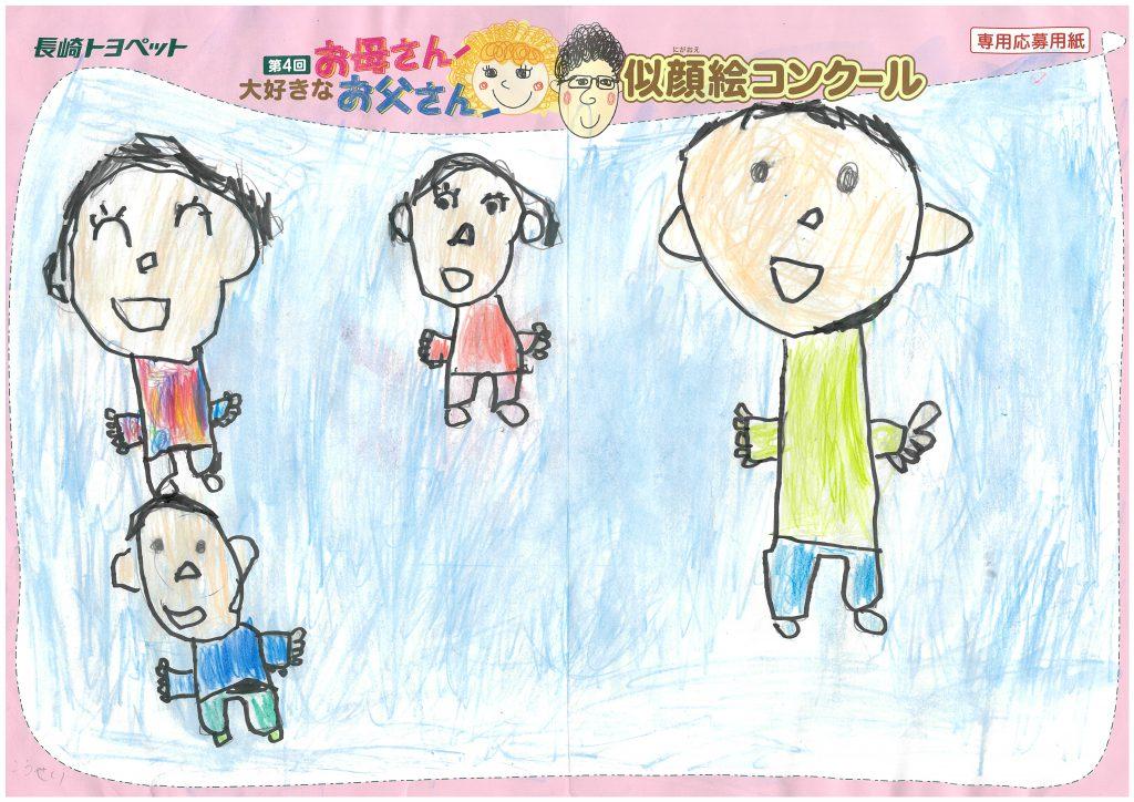 K.Iくん(6才)の作品