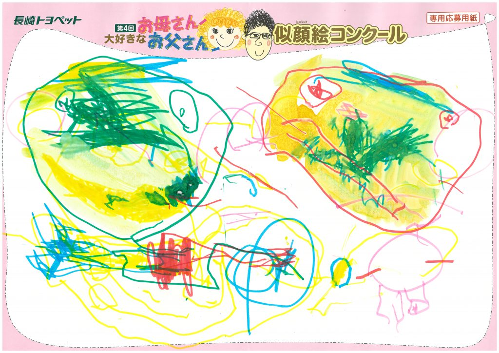T.Kくん(3才)の作品
