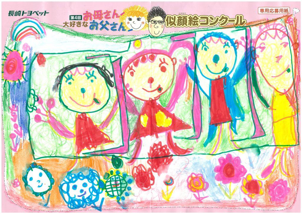 E.Hちゃん(6才)の作品