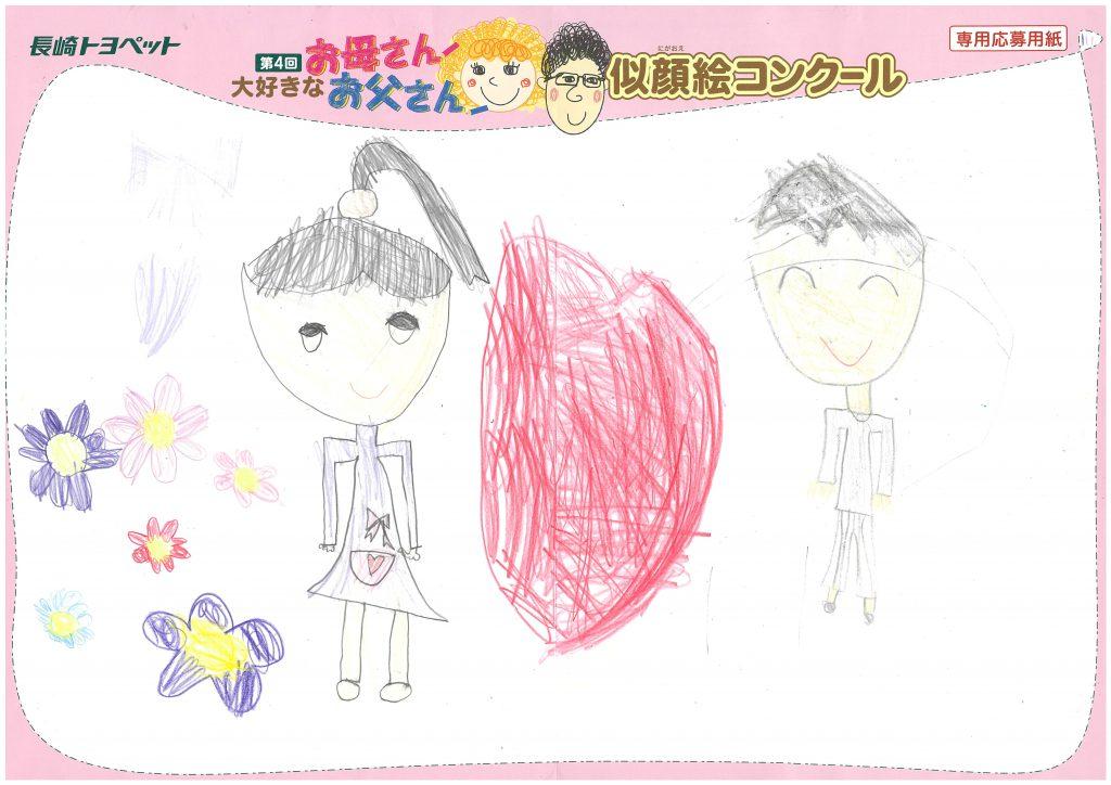 A.Sちゃん(6才)の作品