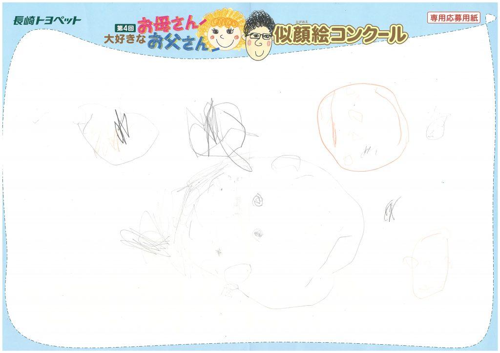 M.Nちゃん(2才)の作品