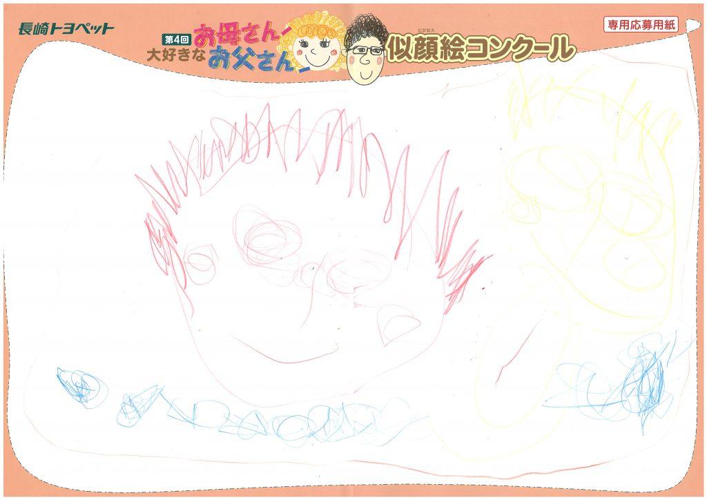 R.Kちゃん(3才)の作品