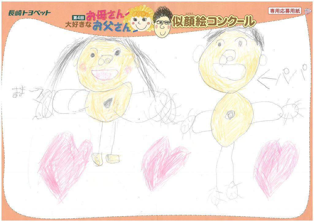 Y.Aちゃん(5才)の作品