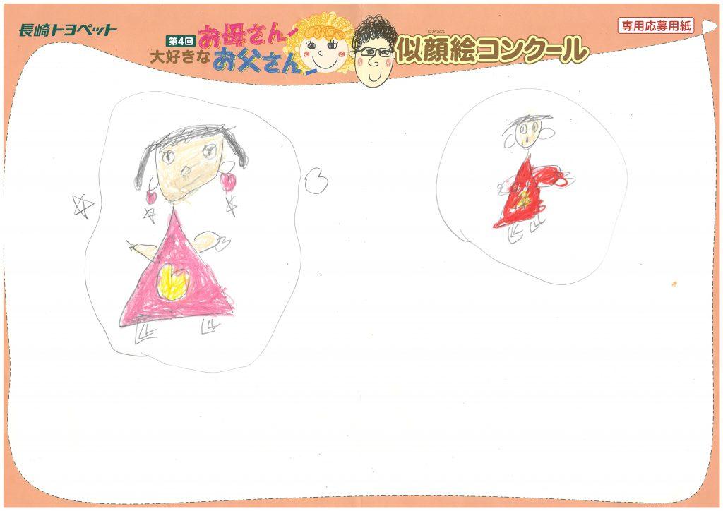 H.Dちゃん(5才)の作品